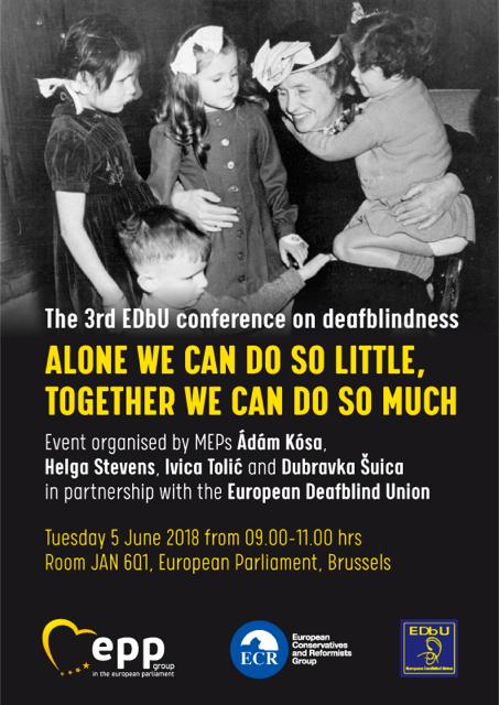 3rd Edbu Conference On Deafblindness Deafblind Awareness Day Alone
